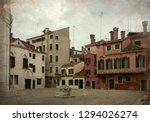 vintage view of campo de la... | Shutterstock . vector #1294026274