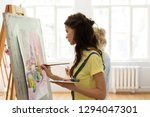 art school  creativity and... | Shutterstock . vector #1294047301