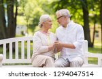 old age  relationship and... | Shutterstock . vector #1294047514