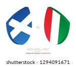 scotland vs italy  2019 rugby... | Shutterstock .eps vector #1294091671