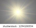 special lens flash  light... | Shutterstock .eps vector #1294100554