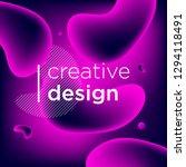 abstract background  gradient... | Shutterstock .eps vector #1294118491