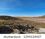 the incredible salt flat of... | Shutterstock . vector #1294133437