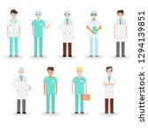 set of different types of... | Shutterstock .eps vector #1294139851