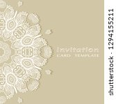 invitation or card template... | Shutterstock .eps vector #1294155211