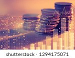 financial investment concept ... | Shutterstock . vector #1294175071