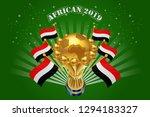 african 2019 background vector... | Shutterstock .eps vector #1294183327