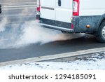 pollution of the atmosphere by... | Shutterstock . vector #1294185091