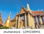grand palace bangkok  wat phra...   Shutterstock . vector #1294238941