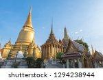 grand palace bangkok  wat phra...   Shutterstock . vector #1294238944