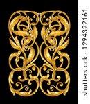 gold ornament element | Shutterstock .eps vector #1294322161