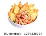 popular thai recipe pad thai...   Shutterstock . vector #1294335334