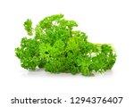 parsley fresh herbs  provide a... | Shutterstock . vector #1294376407