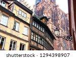 france. alsace. strasbourg. old ...   Shutterstock . vector #1294398907