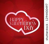 14 february valentine's day... | Shutterstock .eps vector #1294400497