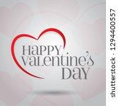 14 february valentine's day... | Shutterstock .eps vector #1294400557