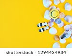 summer concept with copy space. ... | Shutterstock . vector #1294434934