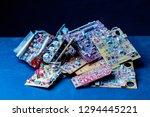closeup photo of bunch of...   Shutterstock . vector #1294445221