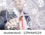 standards compliant check...   Shutterstock . vector #1294469224