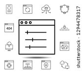 design  display  setting icon....