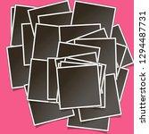 templates for photo  polaroid... | Shutterstock .eps vector #1294487731