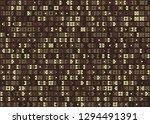 seamless geometric pattern... | Shutterstock .eps vector #1294491391