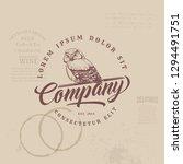 vintage owl logo   Shutterstock .eps vector #1294491751