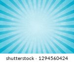 blue background of grunge rays... | Shutterstock .eps vector #1294560424