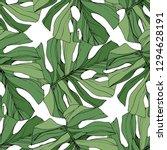 green leaf plant garden floral... | Shutterstock . vector #1294628191