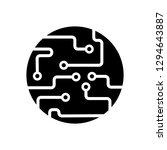 technology icon  board | Shutterstock .eps vector #1294643887