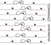 infinity background  vector... | Shutterstock .eps vector #1294666621