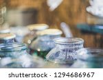 glass cans filled with hot... | Shutterstock . vector #1294686967