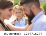 she is obviously jealous.... | Shutterstock . vector #1294716274