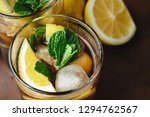 cuba libre cocktail with rum ... | Shutterstock . vector #1294762567