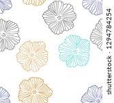 dark multicolor vector seamless ...   Shutterstock .eps vector #1294784254