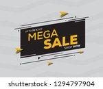 sale banner template design for ... | Shutterstock .eps vector #1294797904