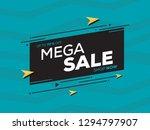 sale banner template design for ... | Shutterstock .eps vector #1294797907