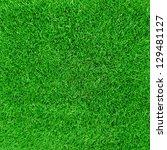 green football field grass | Shutterstock . vector #129481127