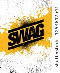 swag urban hipster rough grunge ... | Shutterstock .eps vector #1294812541