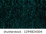computer background numbers 1 0.... | Shutterstock .eps vector #1294824304