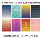 awesome cover backgrounds.... | Shutterstock .eps vector #1294871551
