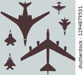 Military Aviation Set Of...