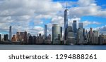 skyline of downtown manhattan... | Shutterstock . vector #1294888261
