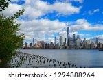 skyline of downtown manhattan... | Shutterstock . vector #1294888264
