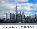 skyline of downtown manhattan... | Shutterstock . vector #1294888267