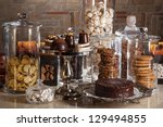 Different Candy Bar Glass Jars