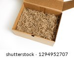 brown shredded paper for... | Shutterstock . vector #1294952707