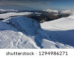 Winter On Helvellyn  Snow And...