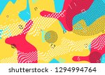 pop art color background.... | Shutterstock .eps vector #1294994764
