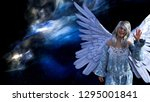 3d illustration of a winged... | Shutterstock . vector #1295001841
